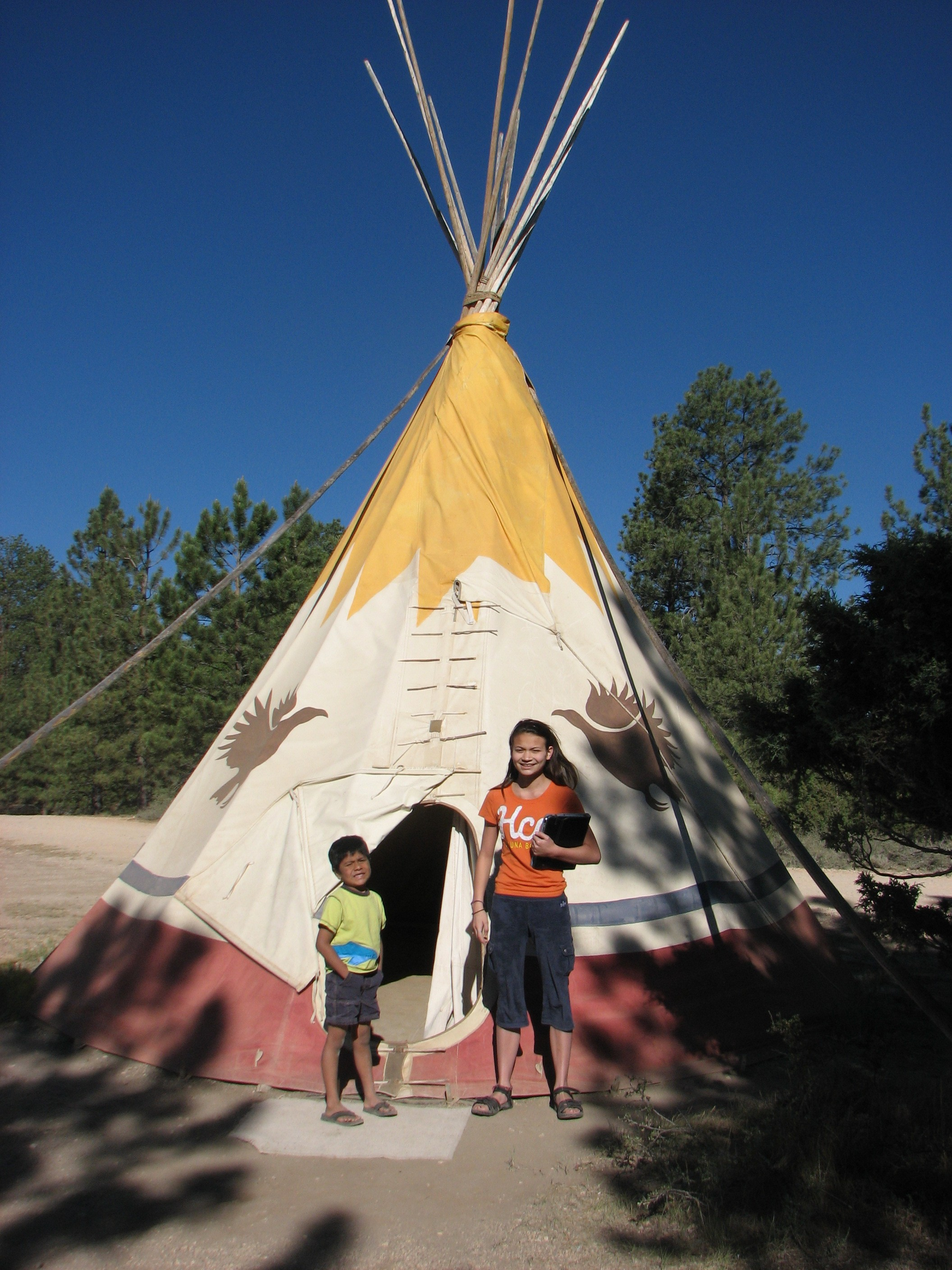 Teepee Camping 4 On A Trip