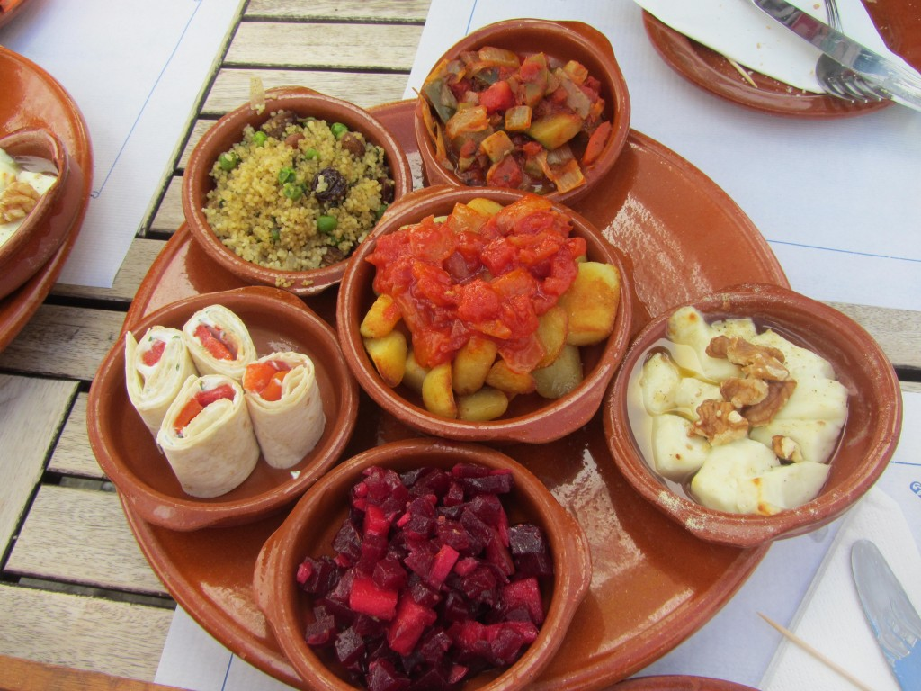 Tapas 4 on a trip for Andalucia cuisine