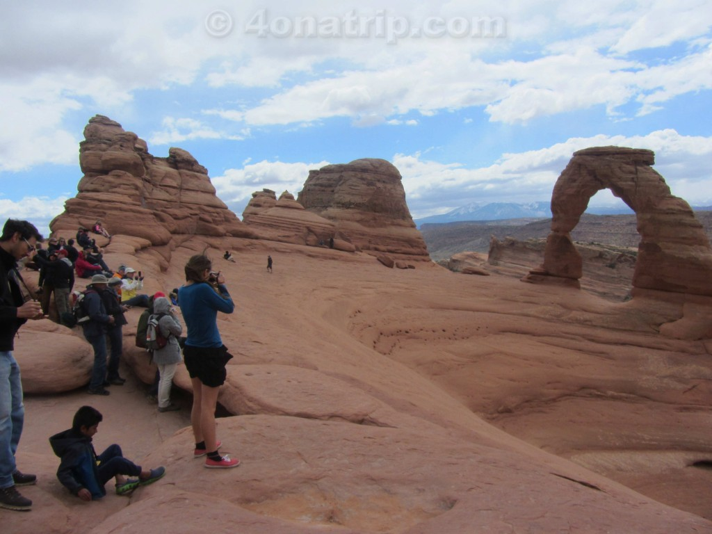photographing Delicate Arch
